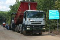 Започнаха рехабилитация на пътя за Маджарово