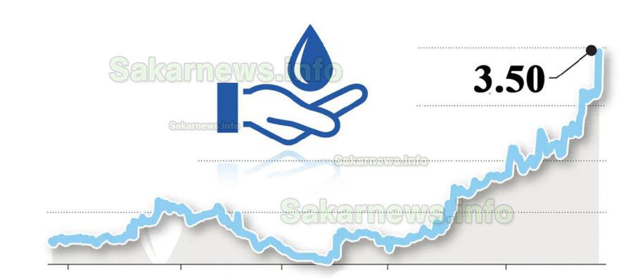 От август – 3,50 лв. за кубик вода, с манган и флуориди