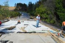 Мостът след село Хлябово по пътя за Харманли ще е готов да края на октомври
