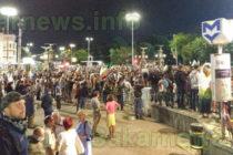Насилието не разколеба протестиращите, ден 57