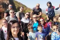 Поход до връх Аида събра любители на природата
