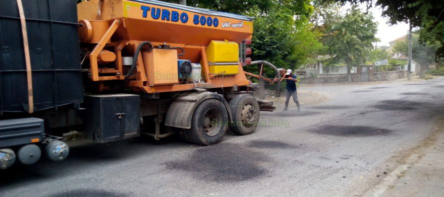 Започна ремонт на инфраструктура в община Тополовград