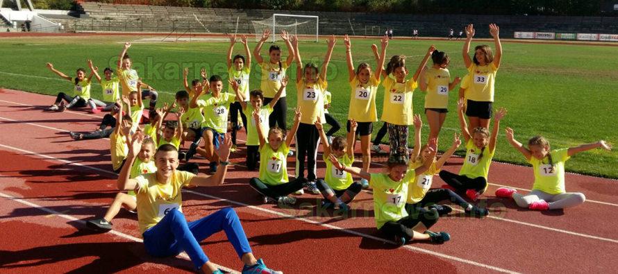 Лекоатлети извоюваха 32 медала от турнир Хасково