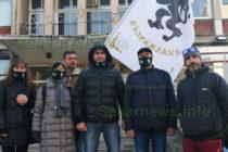 """Партия """"Възраждане"""" остана без подкрепа на поредния си протест в Града на Белоногата"""