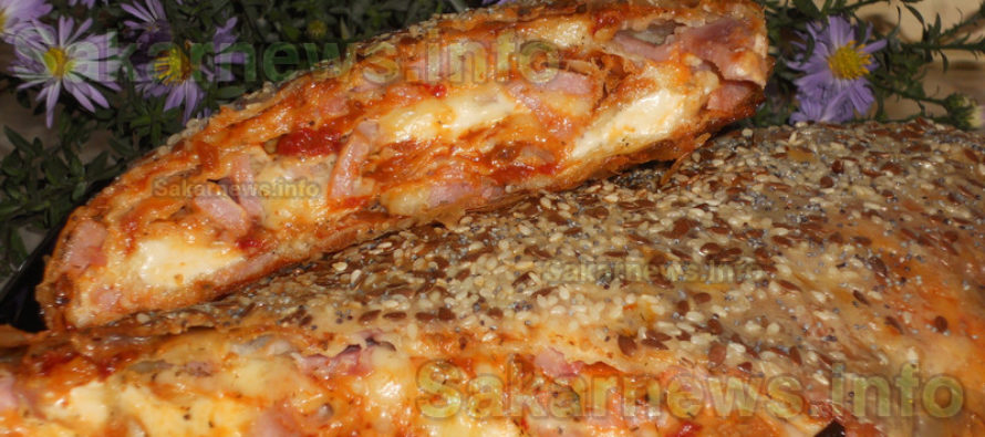 Руло-пица с готови кори