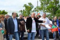 Тополовградчани блокираха пътя за Стара Загора
