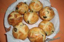Домашен хляб с маслини и сушени домати