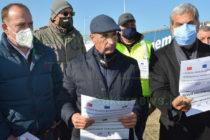 Недоволни шофьори протестират на  българо-турската граница