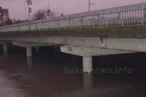 Река Харманлийска достигна обезпокоително ниво