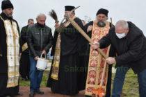Направиха първа копка на нов храм в с. Георги Добрево