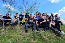 Доброволци засадиха дървета край язовир Кюмюрлука