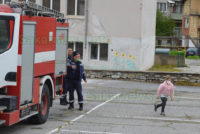 """Тренировъчно занятие """"Действия при пожар"""" се проведе в начално училище"""