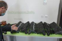 "На ""Капитан Андреево"" в микробус откриха 186 пистолета и 7475 патрона"