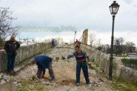 Започна дългоочакваният ремонт на Гърбавия мост в Харманли