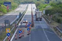 """Ремонтът на важен участък от магистрала """"Марица"""" се бави вече 4 месеца"""