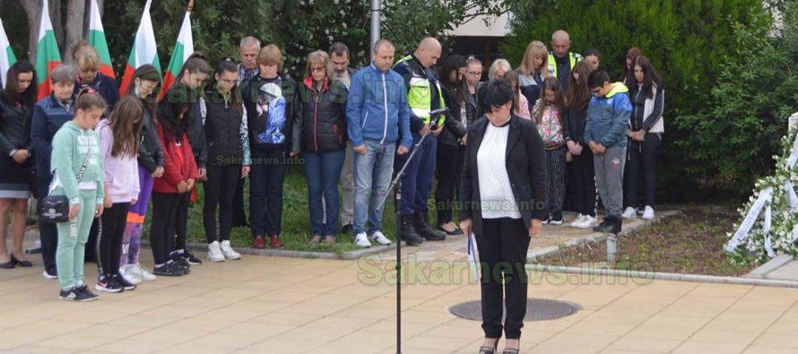 В Тополовград  на 2 юни  бе почетена паметта на Ботев
