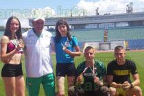 Три лекоатлетки постигнаха добри резултати в национален шампионат