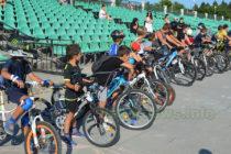 Емоционално състезание на малките колоездачи