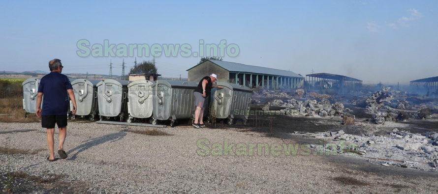 Два пожара едновременно възникнаха край Любимец
