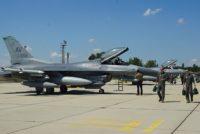 Американски F-16 се пребазираха в авиобаза Граф Игнатиево