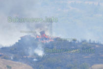 Пожар изпепели вила край Харманли
