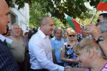 От Тополовград президентът Румен Радев призова партиите към компромис