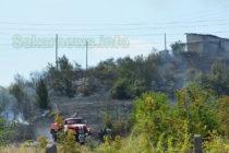 11-годишно дете е причинило пожара край Харманли вчера