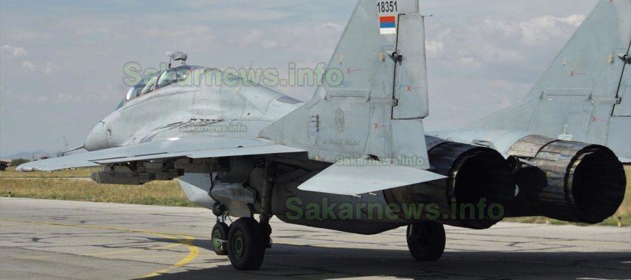 """Сръбски МиГ-29 пристигат в България за участие в стрелби на """"Шабла"""""""