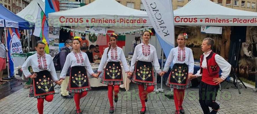 Кмет и деца от Ивайловград представиха българския фолклор във Франция