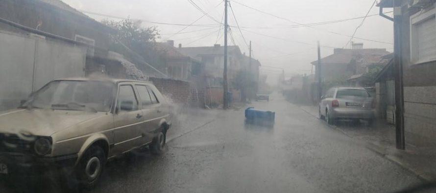 Отново градушки, вчера в Ивайловградско, днес в Любимчанско